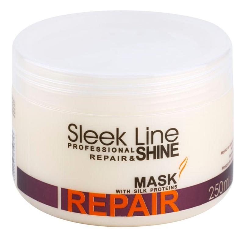 Stapiz Sleek Line Repair Vernieuwende Masker  voor Beschadigd, Chemisch Behandeld Haar