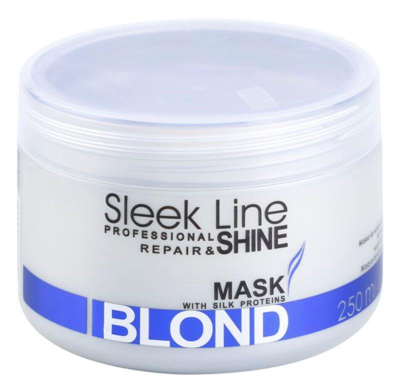 Stapiz Sleek Line Blond Masker  voor Blond en Grijs Haar
