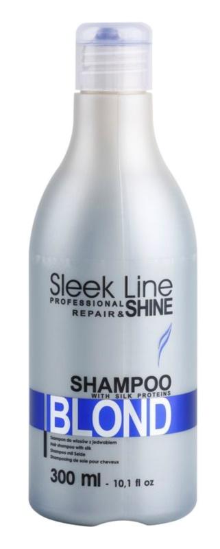 Stapiz Sleek Line Blond champô para cabelo loiro e grisalho