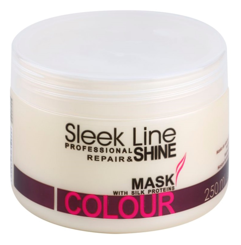 Stapiz Sleek Line Colour maschera idratante per capelli tinti