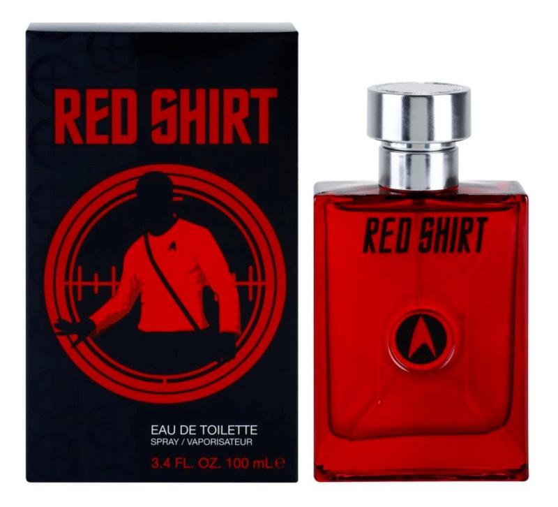 Star Trek Red Shirt eau de toilette pentru barbati 100 ml