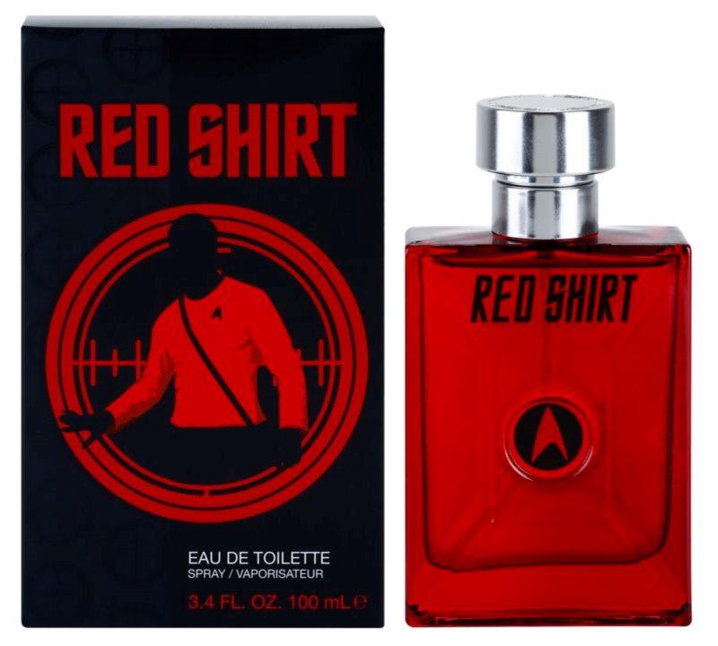 Star Trek Red Shirt toaletní voda pro muže 100 ml