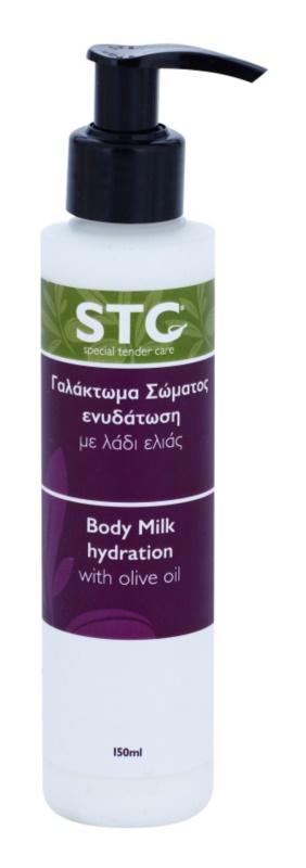 STC Body feuchtigkeitsspendende Körpermilch mit  Olivenöl