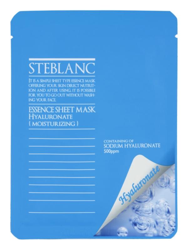 Steblanc Essence Sheet Mask Hyaluronate maseczka  intensywnie nawilżający