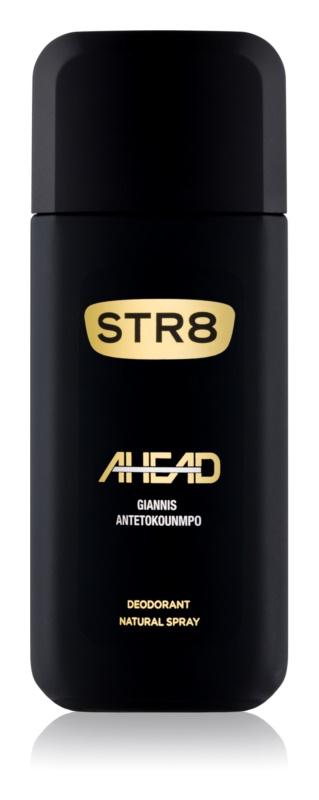 STR8 Ahead deodorant s rozprašovačem pro muže 85 ml
