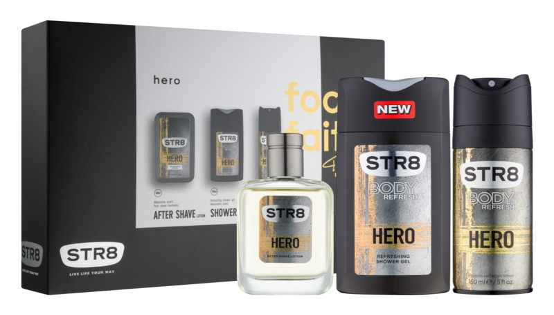 STR8 Hero Gift Set I.