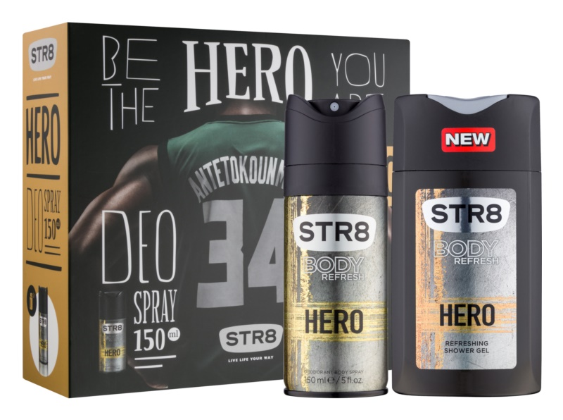 STR8 Hero confezione regalo II.