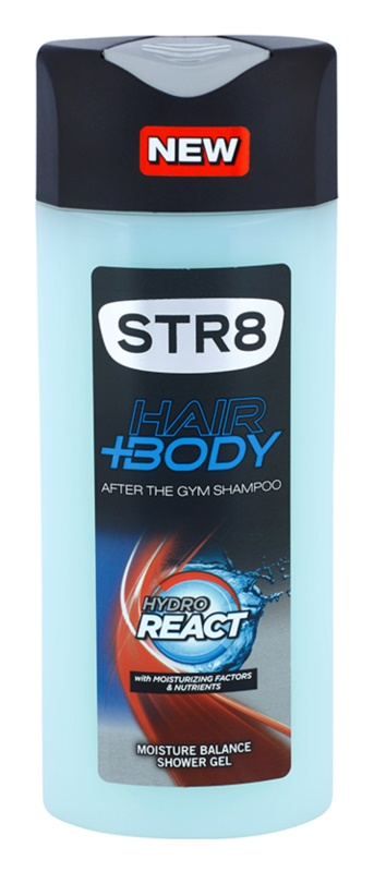 STR8 Hydro React Douchegel voor Mannen 400 ml