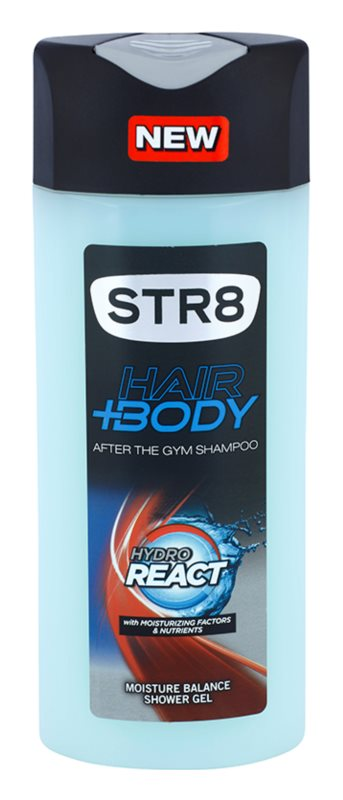 STR8 Hydro React Shower Gel for Men 400 ml