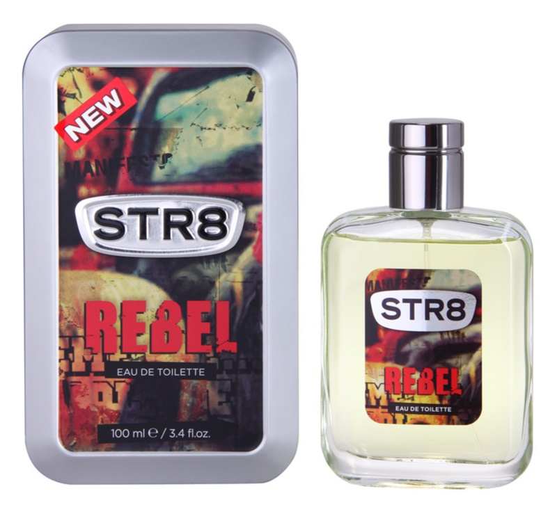 STR8 Rebel Eau de Toilette voor Mannen 100 ml