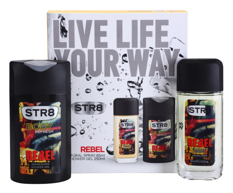 STR8 Rebel Gift Set VI.