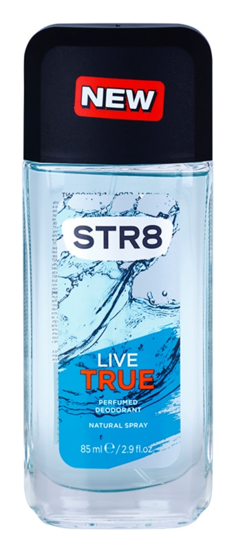 STR8 Live True Perfume Deodorant for Men 85 ml