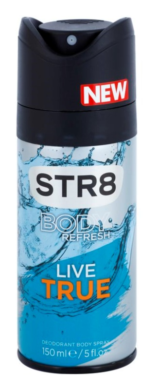 STR8 Live True Deo Spray voor Mannen 150 ml