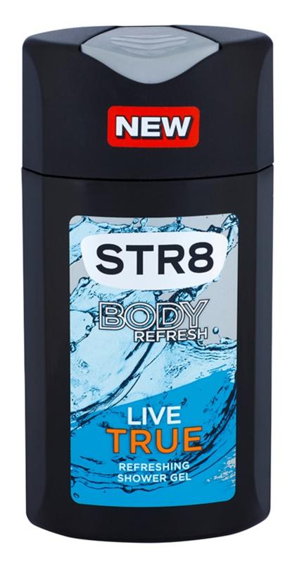 STR8 Live True gel de dus pentru barbati 250 ml