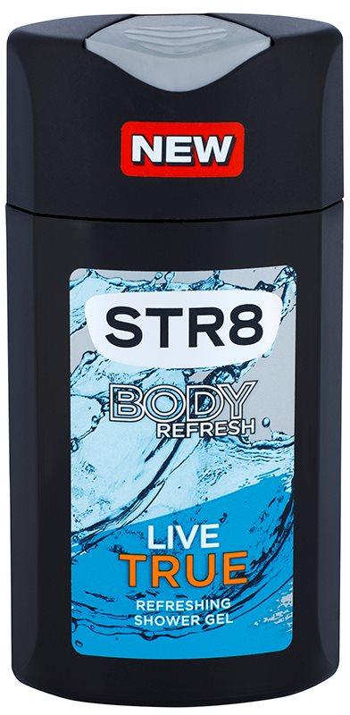 STR8 Live True Shower Gel for Men 250 ml