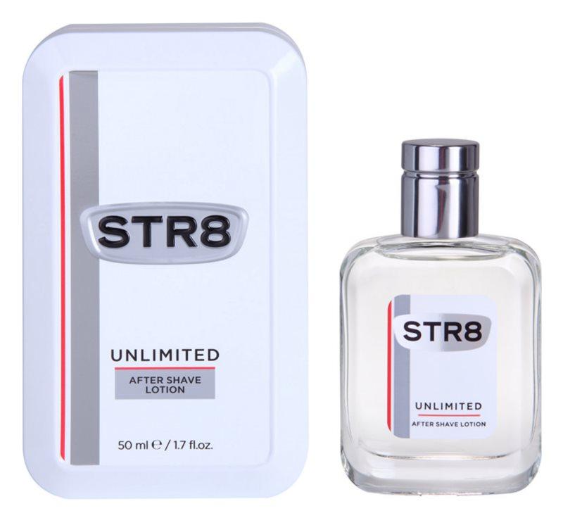 STR8 Unlimited voda po holení pre mužov 50 ml
