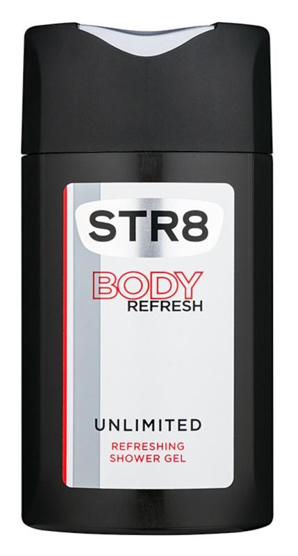 STR8 Unlimited Τζελ για ντους για άνδρες 250 μλ