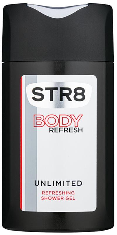 STR8 Unlimited gel doccia per uomo 250 ml