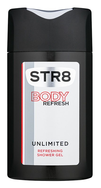 STR8 Unlimited sprchový gél pre mužov 250 ml
