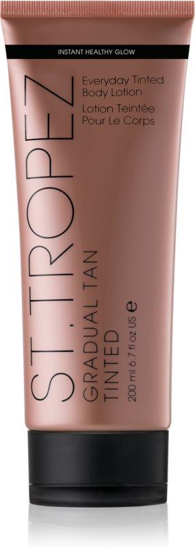 St.Tropez Gradual Tan Tinted Zelfbruinende Body Crème  voor Gelijkmatige Bruining