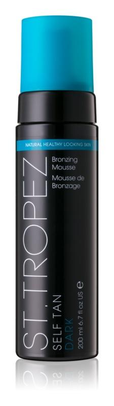 St.Tropez Self Tan Dark mousse auto-bronzante pour un bronzage intense