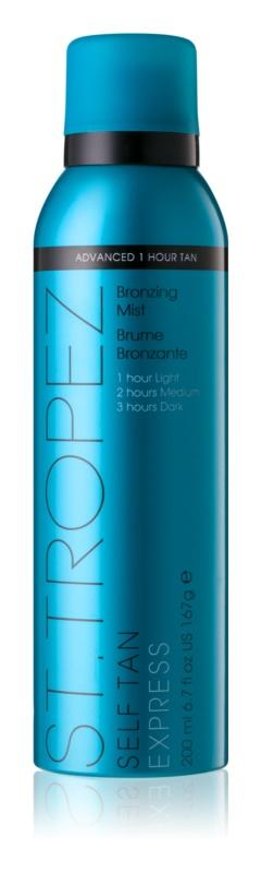 St.Tropez Self Tan Express auto-bronzeador em spray de sacagem rápida de  bronzeamento gradual