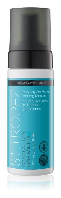 St.Tropez Gradual Tan One Minute spumă de duș cu auto-bronzare pentru bronzare treptata