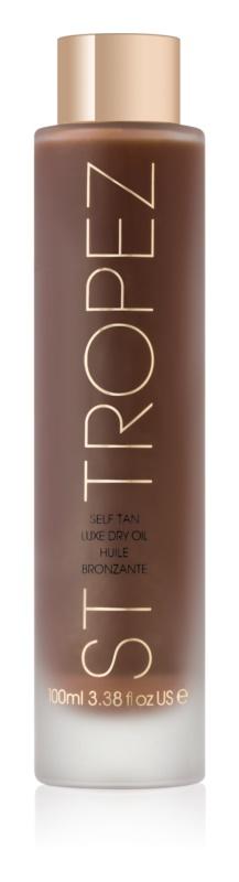 St.Tropez Self Tan Luxe Dry Oil