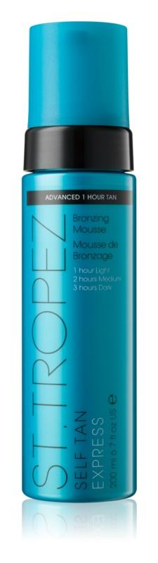 St.Tropez Self Tan Express sneldrogend zelfbruinende schuim voor Gelijkmatige Bruining