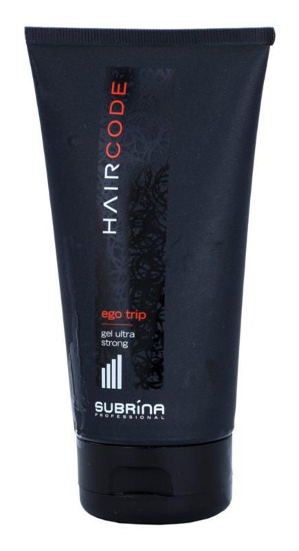 Subrina Professional Hair Code Ego Trip gel na vlasy ultra silná fixace