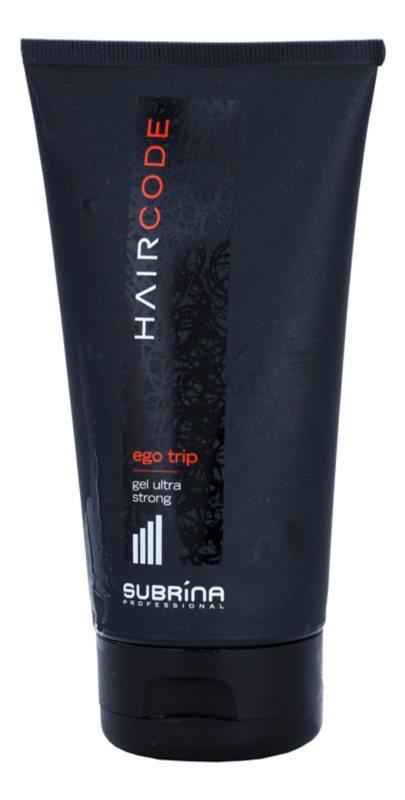 Subrina Professional Hair Code Ego Trip gél na vlasy ultra silná fixácia