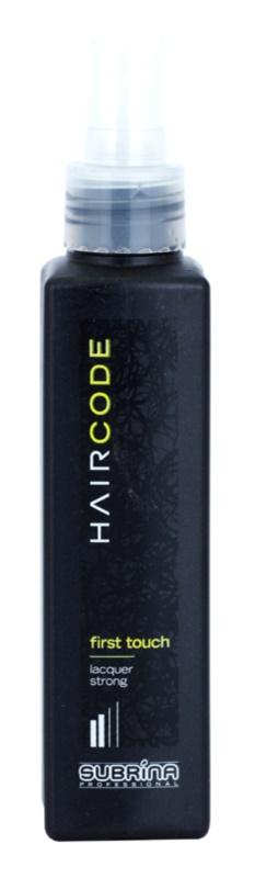 Subrina Professional Hair Code First Touch laca de cabelo fixação forte