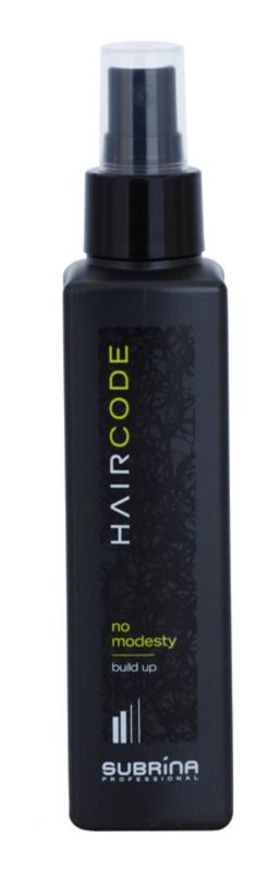 Subrina Professional Hair Code No Modesty spray styling para volume e forma