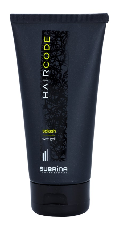 Subrina Professional Hair Code Splash gel na vlasy s mokrým efektem