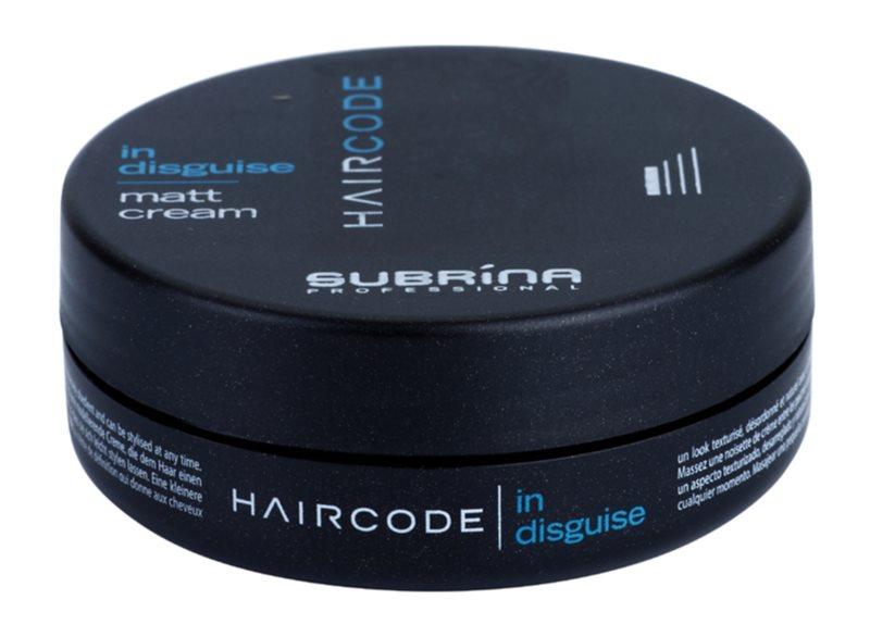 Subrina Professional Hair Code In Disguise mattító krém az alakért és formáért
