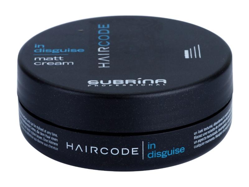 Subrina Professional Hair Code In Disguise matující krém pro definici a tvar