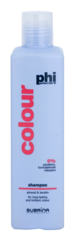 Subrina Professional PHI Colour šampon na ochranu barvy s výtažky z mandlí