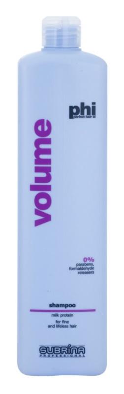 Subrina Professional PHI Volume шампунь для об'єму з молочними протеїнами