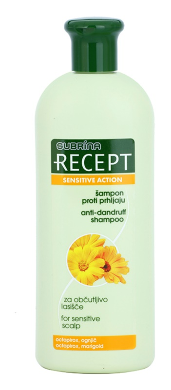 Subrina Professional Recept Sensitive Action shampoo antiforfora per cuoi capelluti sensibili