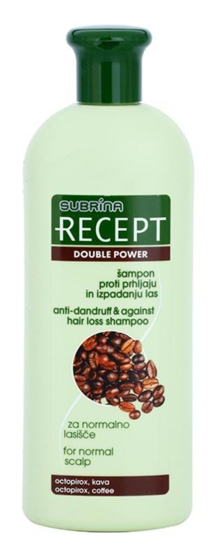 Subrina Professional Recept Double Power champú anticaspa y anticaída