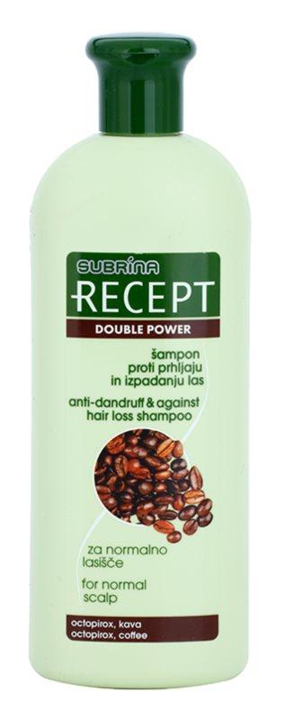 Subrina Professional Recept Double Power šampon proti lupům a vypadávání vlasů