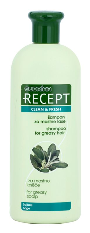 Subrina Professional Recept Clean & Fresh Shampoo For Sensitive Scalp