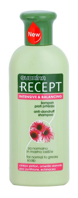 Subrina Professional Recept Intensive & Balancing korpásodás elleni sampon normál és zsíros hajra