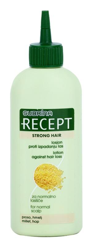 Subrina Professional Recept Strong Hair mléko proti vypadávání vlasů