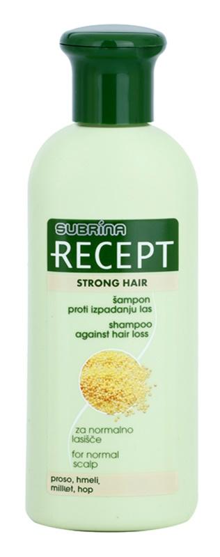 Subrina Professional Recept Strong Hair sampon hajhullás ellen
