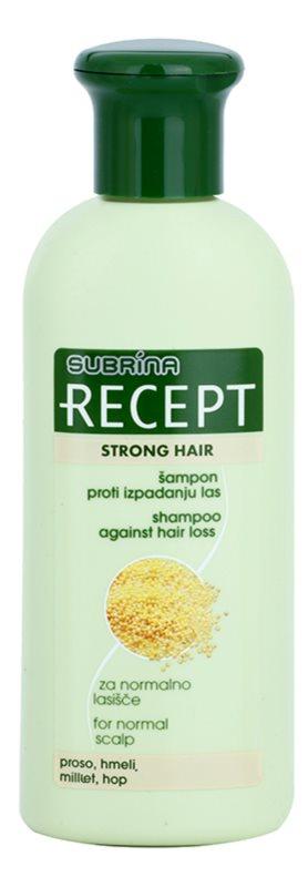 Subrina Professional Recept Strong Hair Shampoo Against Hair Loss