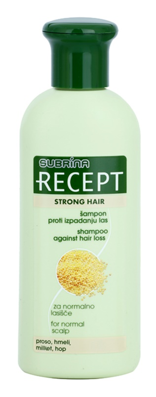 Subrina Professional Recept Strong Hair шампоан  против косопад