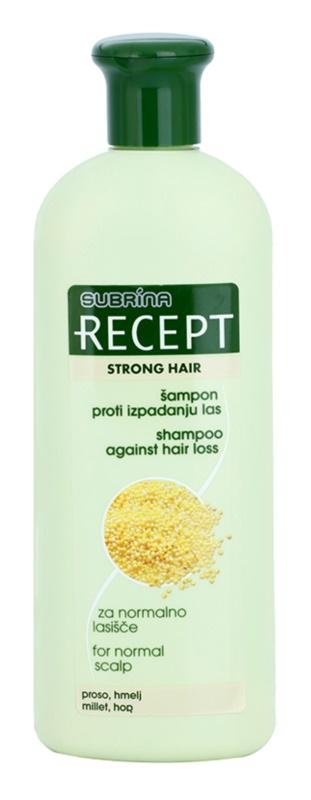 Subrina Professional Recept Strong Hair champô anti-queda capilar