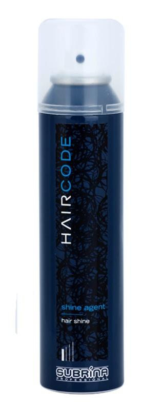 Subrina Professional Hair Code Shine Agent spray para cabelo brilhante e macio