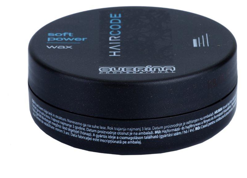 Subrina Professional Hair Code Soft Power vosek za lase za fiksacijo in obliko